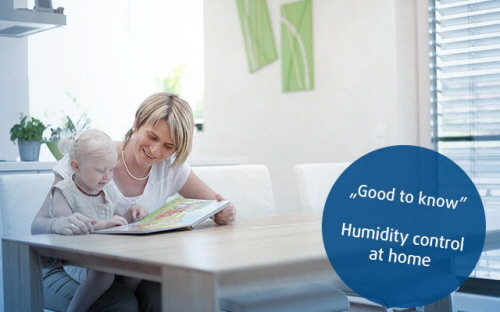 Humidity Control at Home