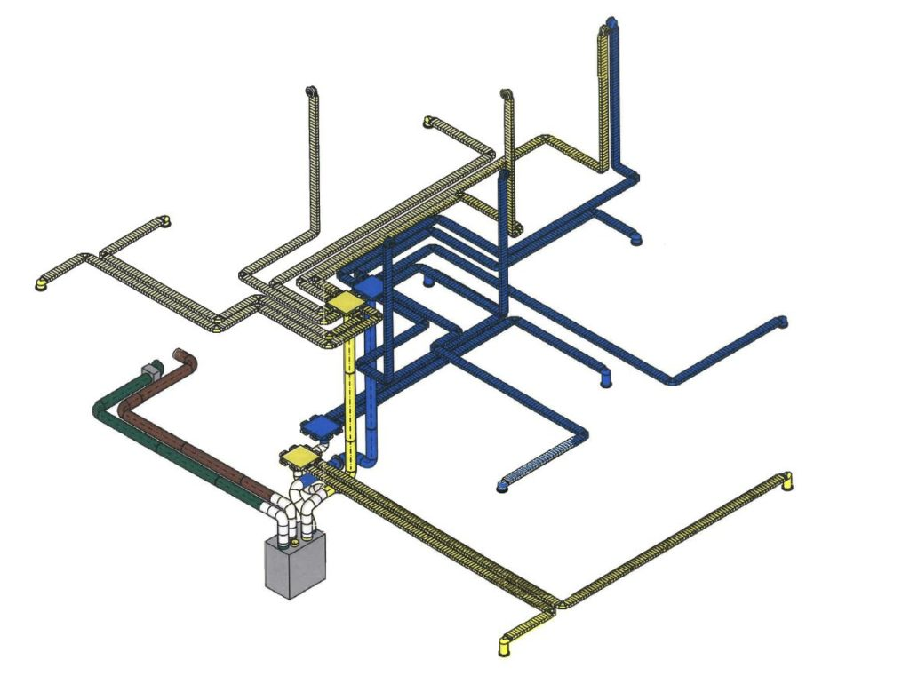 Filtration system diagram